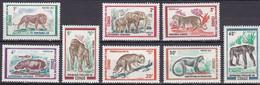 CG-11 – CONGO – 1972 – WILD ANIMALS - MI # 341/8 MNH 17,30 € - Ongebruikt