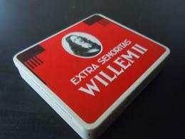 Willem II Senoritas Holland Boîte En Metal Pour Cigares Blikken Doos Voor 20 Sigaren 574 Kleine Druk 12,5 X 11, X 2,4 - Scatola Di Sigari (vuote)