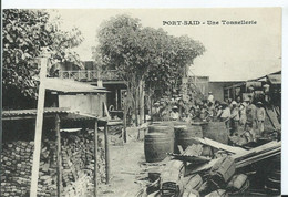 PORT SAÏD - Une Tonnellerie - Port-Saïd