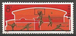 China,National Sport 1972.,key Value,MNH - Ungebraucht
