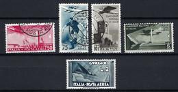 ITALIE Poste Aérienne: Y&T 64-67 Obl. - Airmail