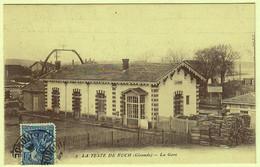 33 - B56556CPA - LA TESTE DE BUCH - ARCACHON - La Gare - Très Bon état - GIRONDE - Ohne Zuordnung