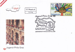 ÖSTERREICH 2003 - Jugend Phila Graz 2003 - Sonderstempel FDC - FDC