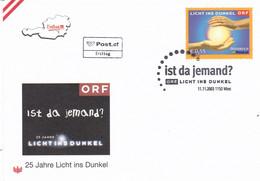 ÖSTERREICH 2003 - Ist Da Jemand 25 Jahre Licht Ins Dunkel FDC - FDC