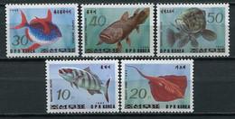 Korea North 1993 Corea / Fishes Fish MNH Fische Peces Poisson / Ht45  18-11 - Fishes