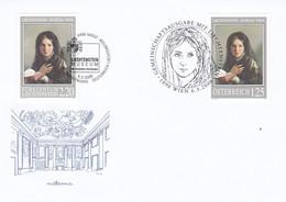 ÖSTERREICH Austria 2006- FDC Mit Liechtenstein Gemeinschaftausgabe Museum - FDC