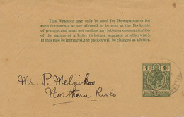 Former British Honduras  Wrapper For Newspaper Stamped Belize  Melnikoo Northern River Size 12,5 By 8 Cms - Belize