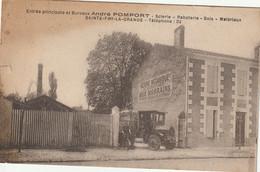 Sainte Foy La Grande : Scierie Raboterie Bois Matériaux  André Pomport : Entrée Pricipale + Bureaux - Otros Municipios