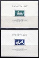 Dantzig BF 1937 Yvert 1 / 2 ** TB - Danzig