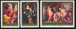 Liechtenstein 1976 Yvert 596 / 598 ** TB Bord De Feuille - Unused Stamps
