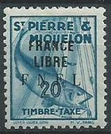SPM TAXE T 60 ** Neuf - Portomarken