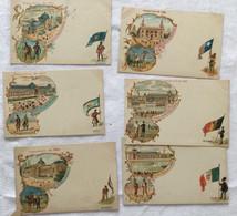 Lots De 6 Cartes- Exposition De 1900- Paris -715 - Exposiciones