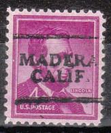 Locals USA Precancel Vorausentwertung Preo, Locals California, Madera 701 - Precancels