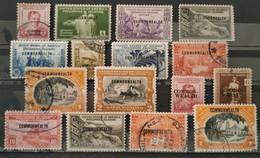 PHILIPPINES - 1935/1938 - COMMONWEALTH - 16 Valeurs De Série (voir Scan) - Philippines
