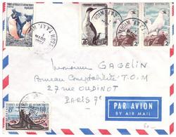 TAAF ST PAUL AMSTERDAM 1 03 1964 - Cartas