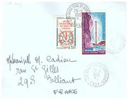 TAAF ST PAUL AMSTERDAM  29 09 1969 - Cartas