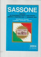 SASSONE , Catalogo 2004   Italia  Repubblica, S. Marino, Vaticano, SMOM Usato Dal 1/1/2001 Al 2004 - Italia