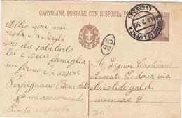 1930 Intero Postale Cent 30 Con Annullo S. Stino Di Livenza Venezia - Storia Postale