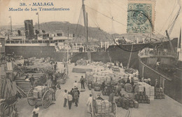 Malaga : Muelle De Los Trasatlanticos - Málaga