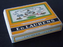 "Ed. Laurens Extension Belge ""Club"" Boîte Cigarettes Egyptiennes Doosje Karton Sigaretten 9 X 7,5 X 1,6 Cm - Other"