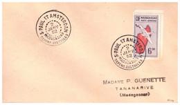 TAAF ST PAUL AMSTERDAM  02 01 1952 - Cartas
