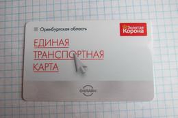 Orenburg. Transport Card. - Russia