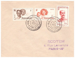TAAF ST PAUL AMSTERDAM  07 12 1950 - Cartas