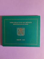 Coffret BU Vatican - Série Divisionnaire 2013 - Vatican