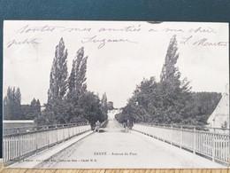 77  ,annet Sur Marne ,l'avenue Du Pont En 1904 - Other Municipalities