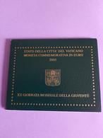 Coffret BU Vatican - 2 Euros Commémorative 2005 - Vatican