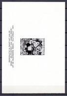 ZNP 7 JAMES ENSOR  ZWART WIT VELLETJE 1975 (nl) - Zwarte/witte Blaadjes