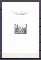 ZNP 4 STAD GENT  ZWART WIT VELLETJE 1972 (fr) - Zwarte/witte Blaadjes