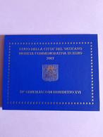 Coffret BU Vatican - 2 Euros Commémorative 2007 - Vatican