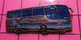 313b Pin's Pins / Beau Et Rare / THEME : TRANSPORTS / AUTOBUS ROUTIER OBERLAND TOURS INTERLAKEN - Transportation
