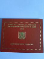 Coffret BU Vatican - 2 Euros Commémorative 2008 - Vatican