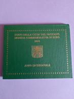 Coffret BU Vatican - 2 Euros Commémorative 2010 - Vatican
