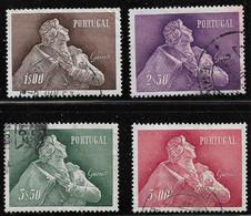 PORTUGAL 1957 Almeida Garret- All Used. First Fold Rest No Faults. - Sin Clasificación