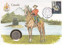 Canada - Numislettre De 1985 ° - Oblit Ottawa - Bateaux - Voiliers - Police - Cartas