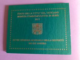 Coffret BU Vatican - 2 Euros Commémorative 2013 - Vatican