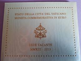Coffret BU Vatican - 2 Euros Commémorative 2013 - Siège Vacant - Vatican