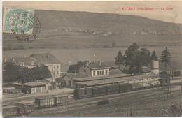 70 VITREY  La Gare - Estaciones Con Trenes