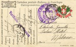 Italia-iNTERO POSTALE CON ANNULLO DI POSTA MILITARE COME DA FOTO- - Ganzsachen