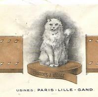 Facture 1928 / 75 PARIS / LILLE LYON ROUEN / GAND / Courroies LECHAT-LAROCHE - 1900 – 1949