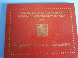 Coffret BU Vatican - 2 Euros Commémorative 2015 - Vatican