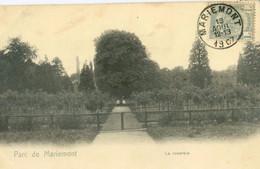 Morlanwelz 1907; Parc De Mariemont. La Roseraie - Voyagé. (Nels - Bruxelles) - Morlanwelz