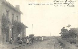 CPA Rouvillers La Gare - Andere Gemeenten