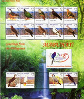 Phiippines 2008,  Birds - Taipei Asian Stamp Exhibition 2008, MNH Sheetlet - Philippines