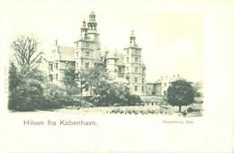 Denmark:Kobenhavn, Rosenborg Palace, Pre 1905 - Danimarca
