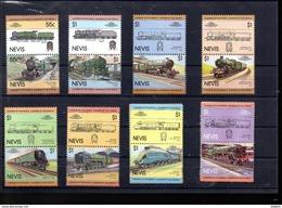 NEVIS 131/146** SUR DES LOCOMOTIVES - St.Kitts And Nevis ( 1983-...)