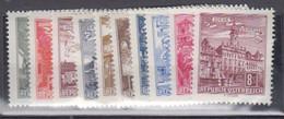 AUTRICHE      1962   N°  951A / 959AA    ( Neuf Sans Charniére )  COTE     20 € 00     ( F 474 ) - Ungebraucht